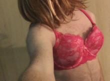 Sissy slave posing lingerie